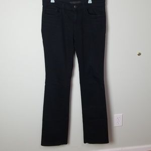 J. Brand black straight leg jeans